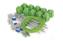 Standard Grip Assembly Kit Green - Short Tail Wires (10 pc set)
