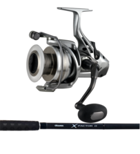 Okuma X-Factor 8'6 Rock Rod with Okuma Coronado CDX80 Reel