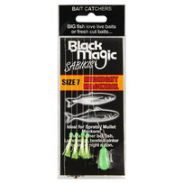 Black Magic Bait Sabiki Midnight Mackerel Size 7
