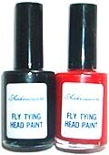 Fly-Tying Head Paint - RED
