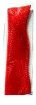 "Crimped Lure Hair - 8"" BRIGHT RED"