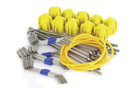 Long Grip Assembly Kit Yellow - Long Tail Wires (10 pc set)