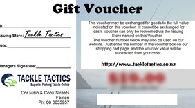Gift Voucher - (From $10)