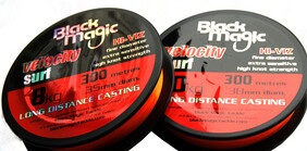 Black Magic Velocity Surf Line - 300mtr spools
