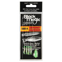 Black Magic Bait Sabiki Midnight Mackerel Size 4