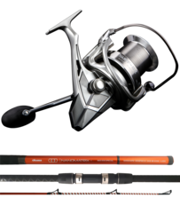 Nanomatrix Mad Dog surf rod with Okuma Surf 8K reel COMBO!