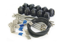 Long Grip Assembly Kit Black - Long Tail Wires (10 pc set)